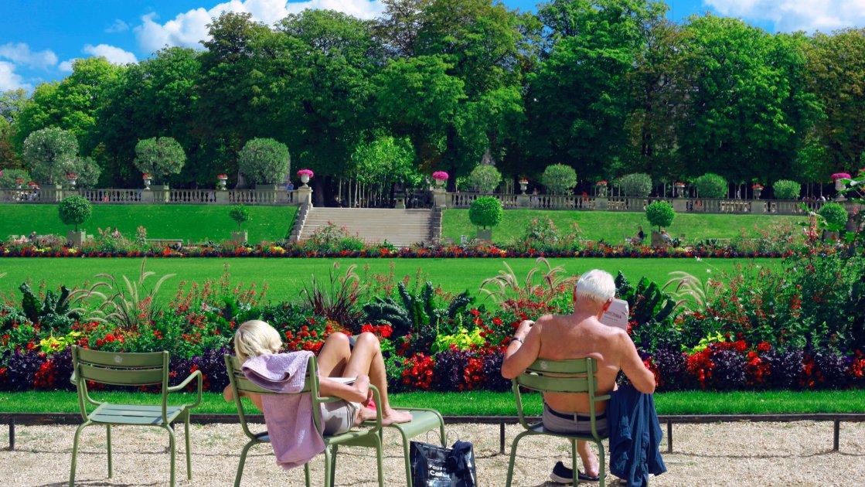 Люксембургский сад - Париж