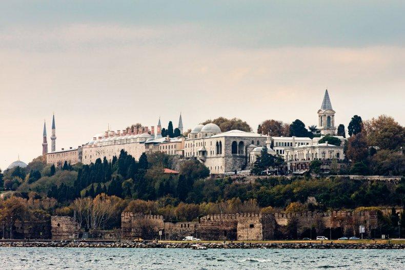 Дворец topkapi в Стамбуле