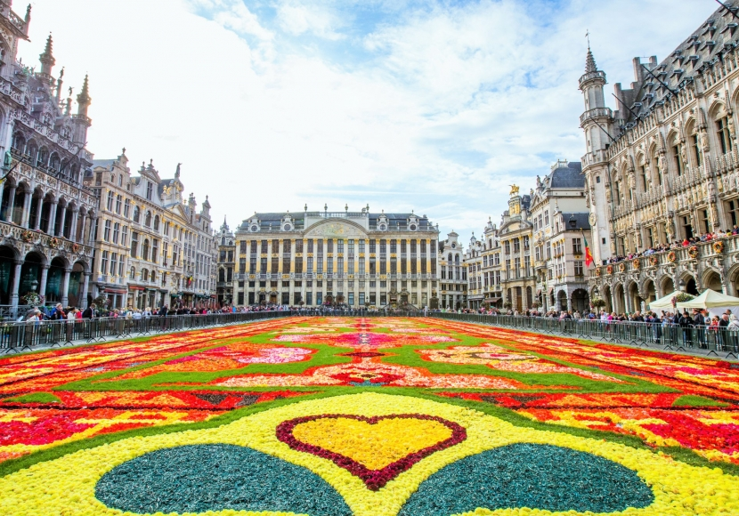 Наши за границей: Бельгия