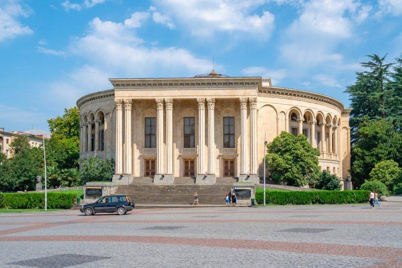 Театр имени Месхешвили, Кутаиси, Грузия