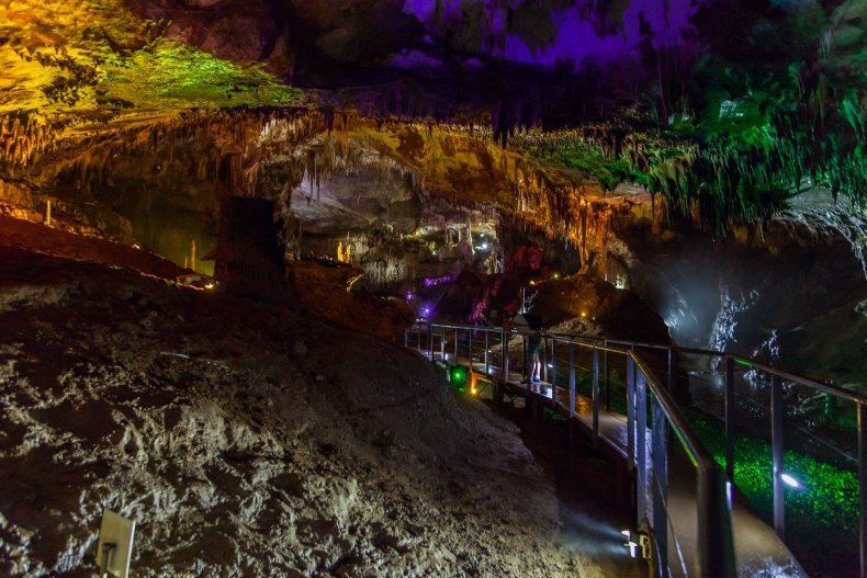 Пещера Прометея, Кутаиси, Грузия