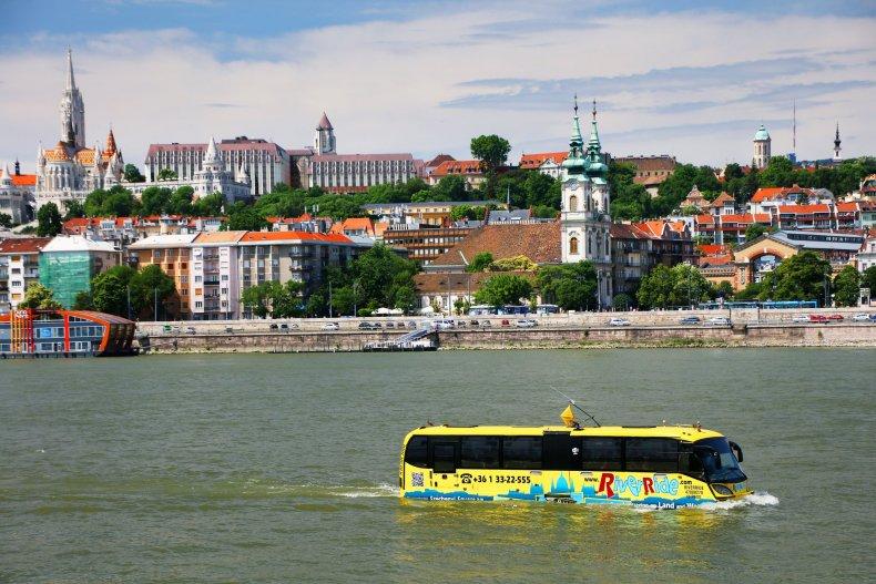 экскурсионный автобус - Будапешт