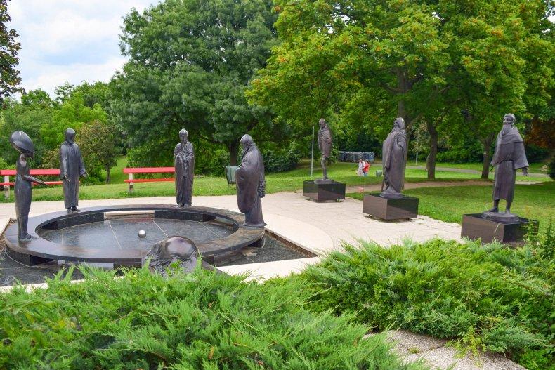 Философский сад на горе Геллерт