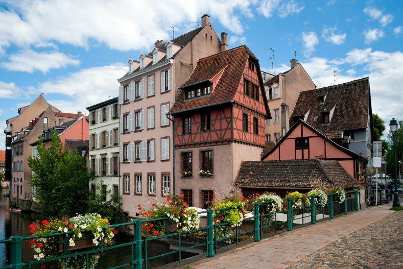 """Страсбург, городок """"Маленькая Франция"""""""