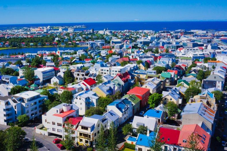 город, Рейкьявик, Исландия