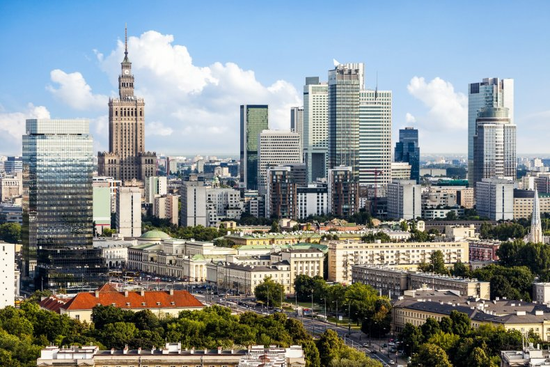 Центр города Варшава