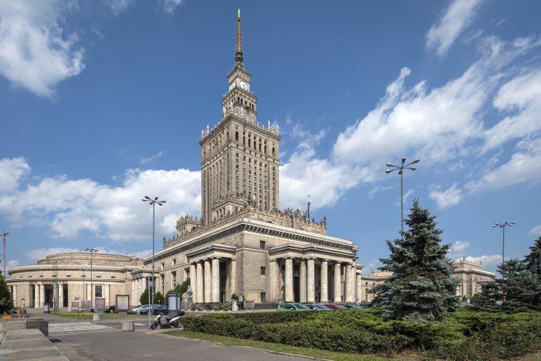 Дворец культуры и наука в Варшаве