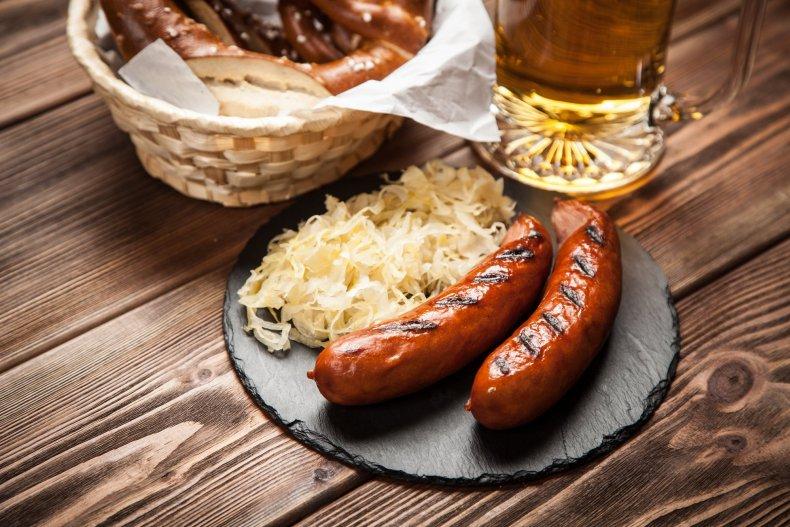 Традиционная немецкая пища