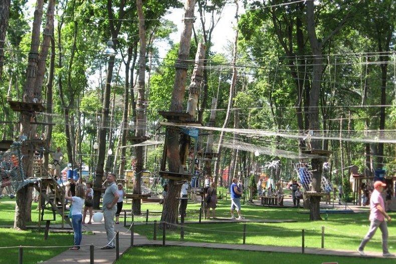 Веревочный парк в Харькове