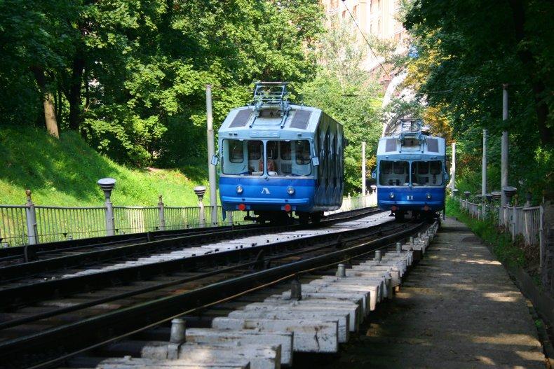 Фуникулер в Киеве