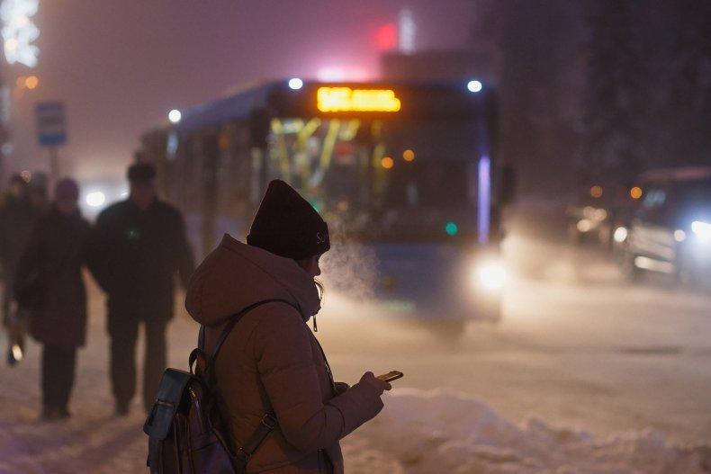 Ночной транспорт в Киеве