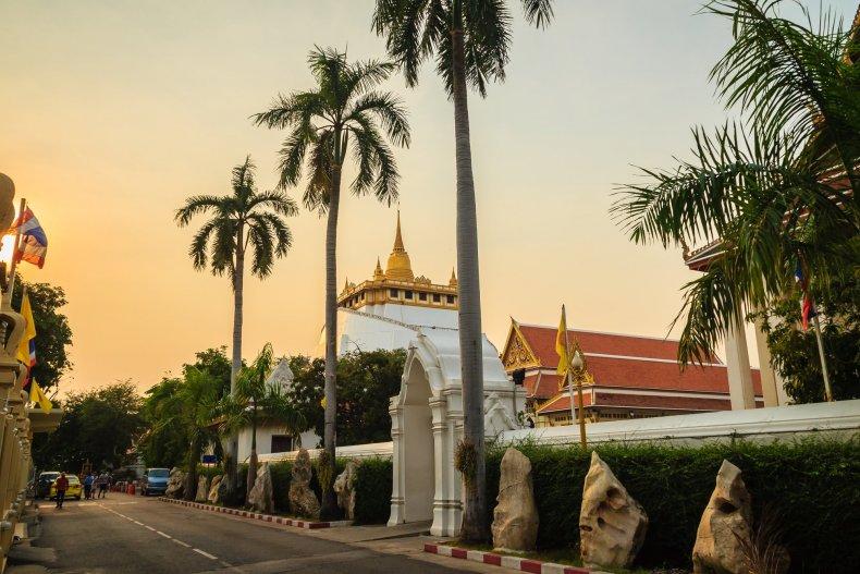 Храм Золотой Горы (Ват Сакет), Бангкок