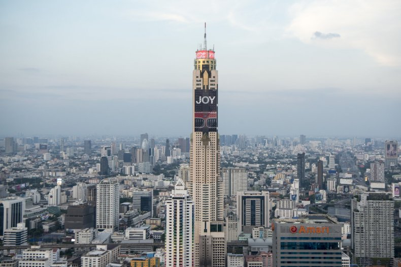 Отель-небоскреб Байок Скай, Бангкок