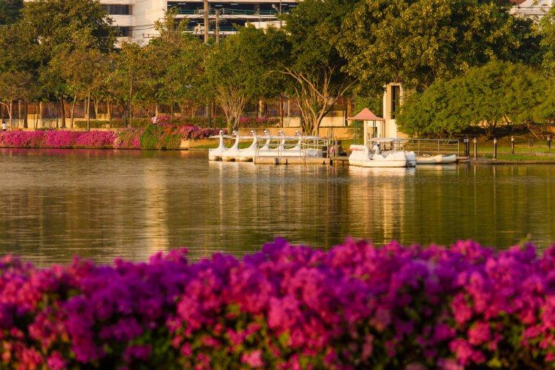 Парк Королевы Сирикит, Бангкок