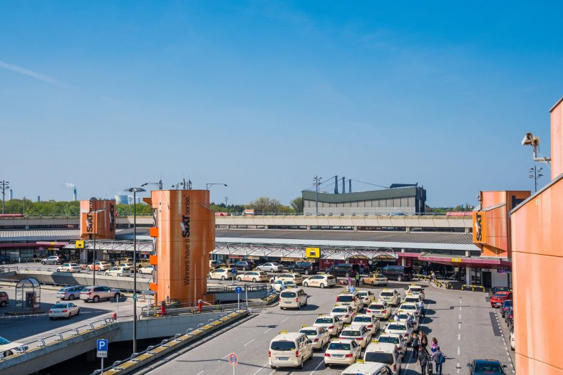 Отто Лилиенталь терминал в аэропорту Берлин Тегель