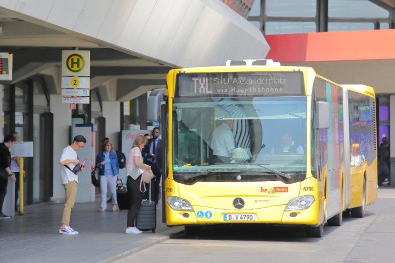 автобус-шаттл аэропорт Txl