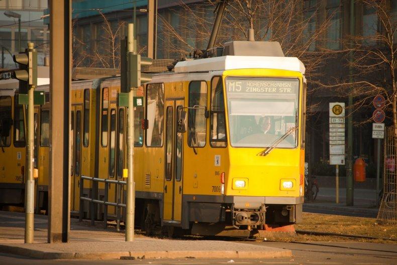 Электрический трамвай в Берлине