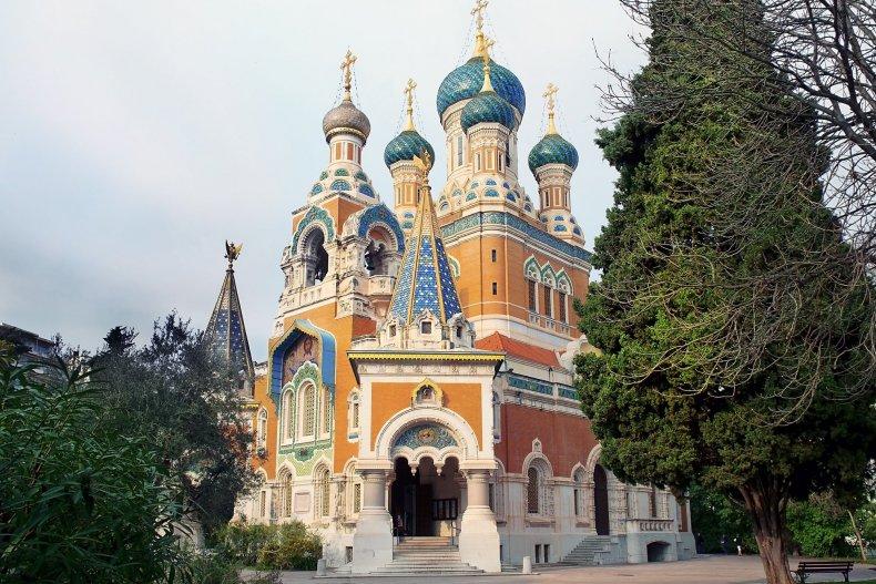 Русский собор в Ницце