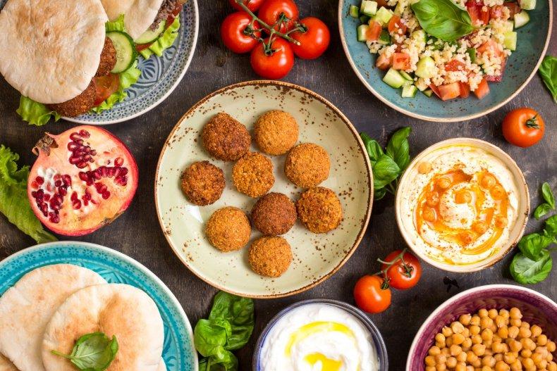 традиционные блюда Ближнего Востока