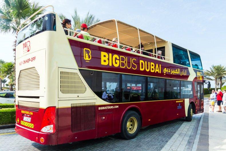 Город Дубай автобус путешествия