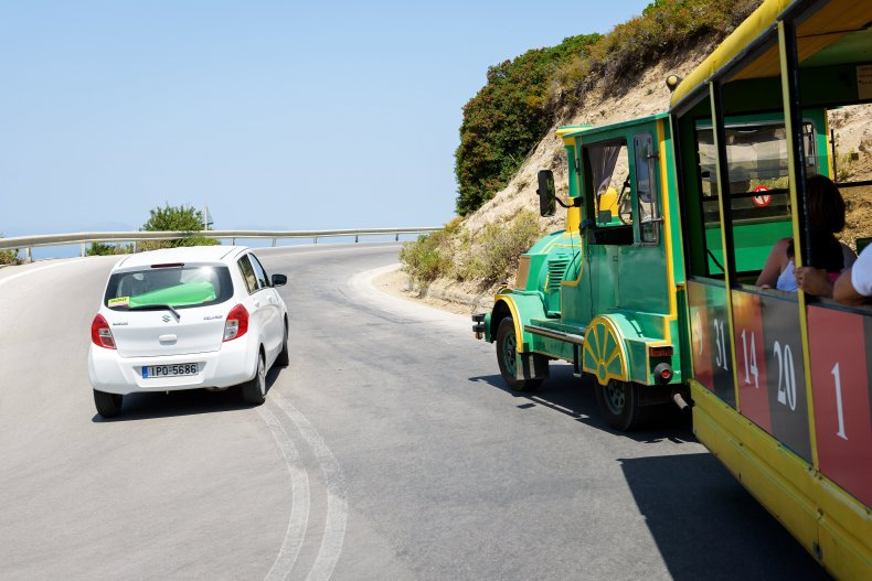 Автомобиль на острове Родос