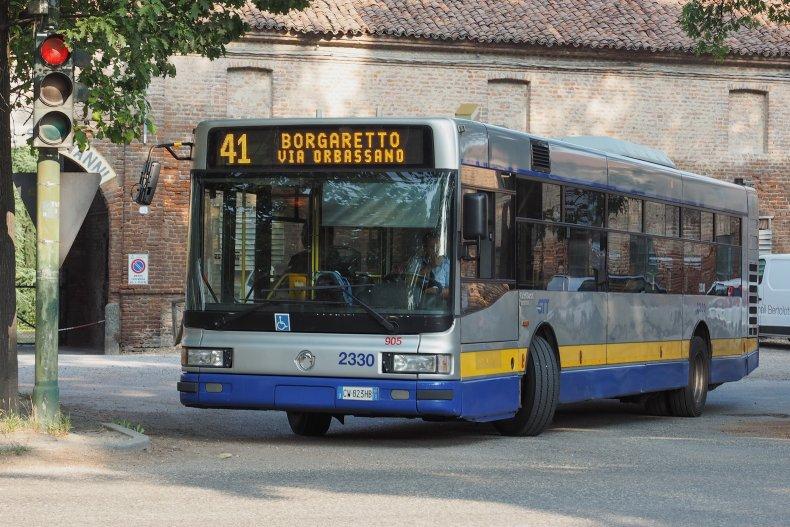 Автобус, Турин