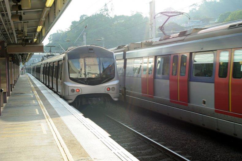 Скоростной поезд в Гонконг