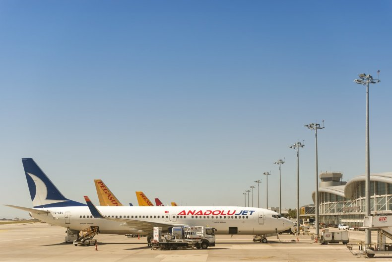 Международный аэропорт Сэбиха Гоксен Стамбул, Турция