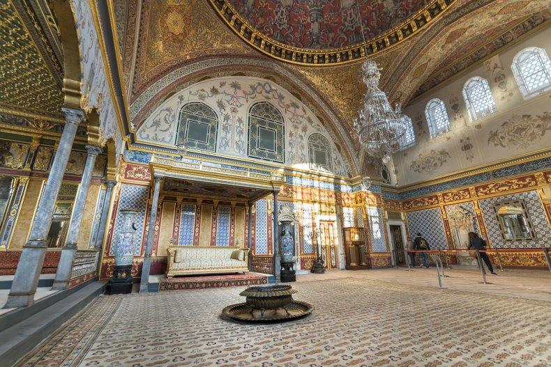 Дворец Топкапы гарем секция, Стамбул, Турция