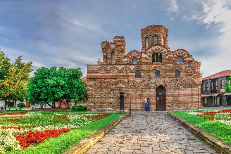 Пантократическая церковь в Несебре