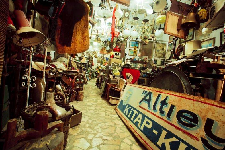 магазин антиквариата Стамбул
