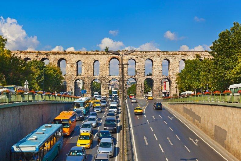 транспорт на дорогах Стамбула