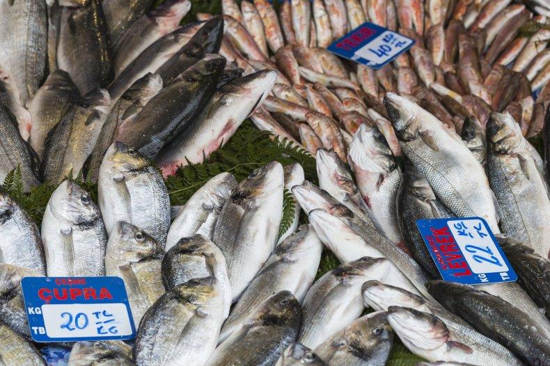 рыбный базар, Стамбул