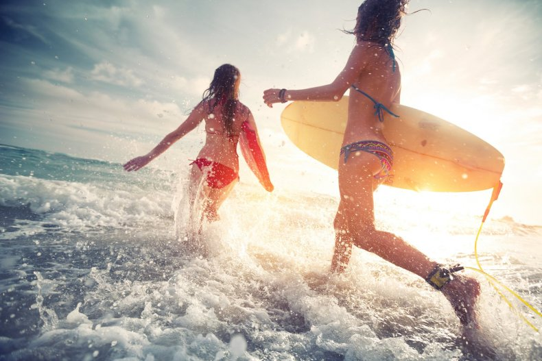 серфинг в Бурч Бич Клаб