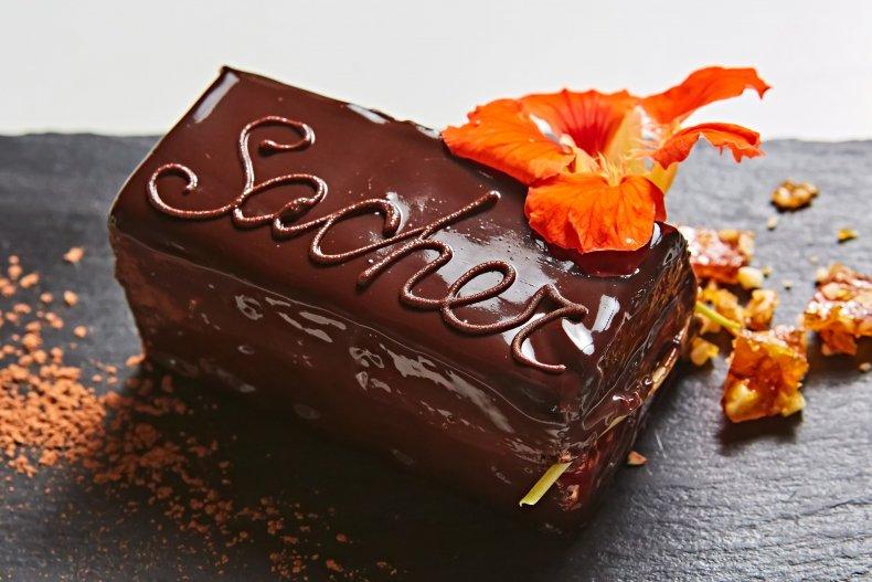 """торт """"Захер"""" в Вене"""