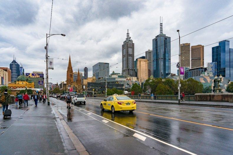 Такси в Мельбурне