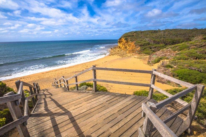 Пляжный сезон в Мельбурне