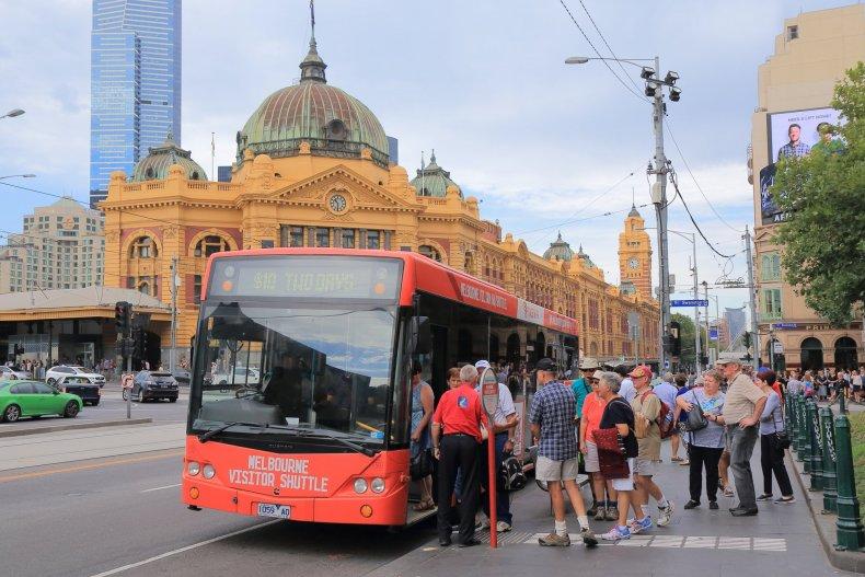 Автобусная экскурсия в Мельбурне