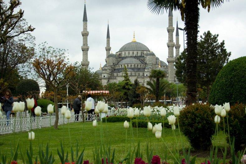 весенний Стамбул