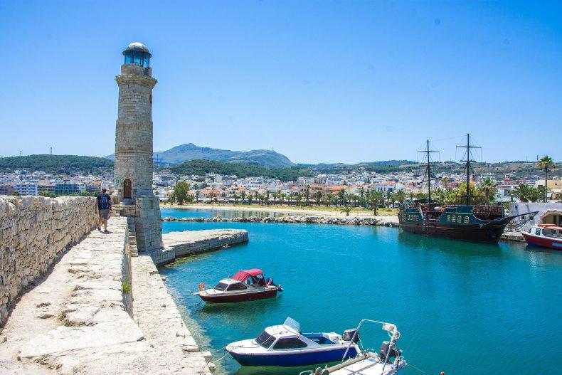 венецианский маяк в Ретимно