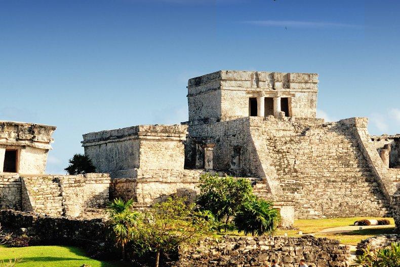 древний город Тулум в Канкуне