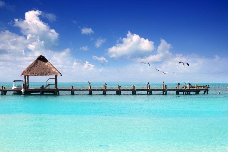 остров Контой в Канкуна