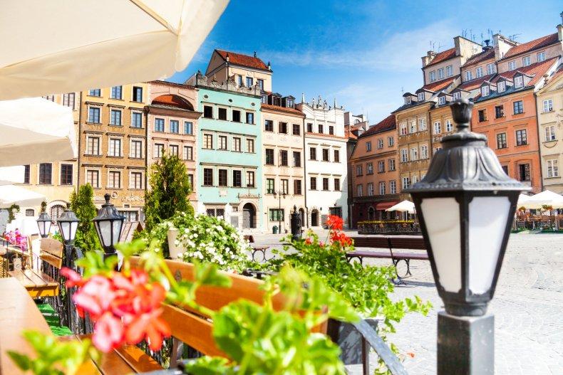 Староместная площадь в Варшаве