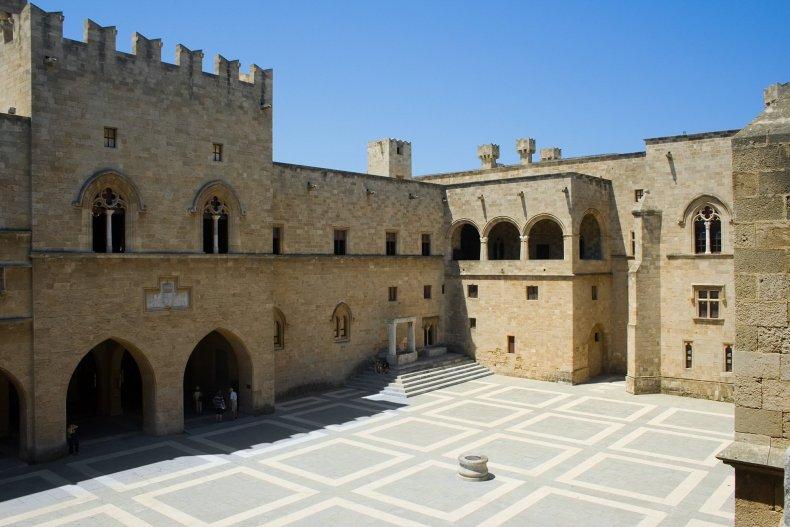 дворец Магистра, Родос