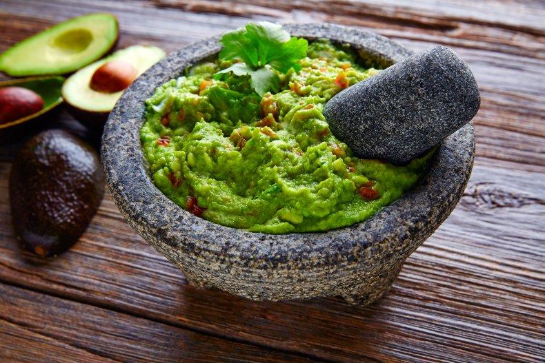 Гуакамоле,мексиканская закуска