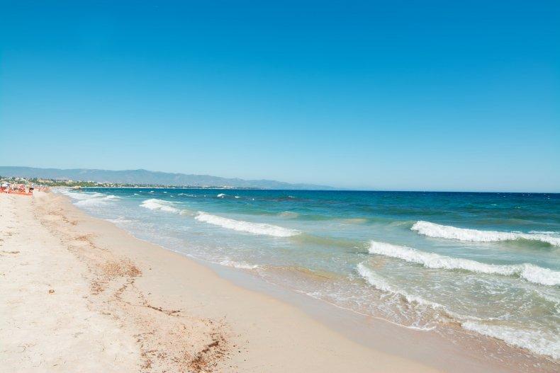 Пляжи в Кальяри