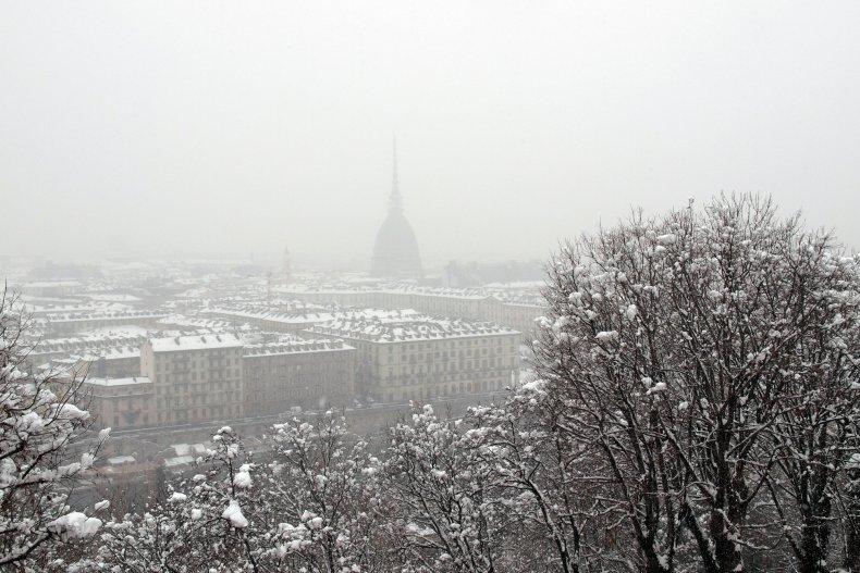 зима в Турине