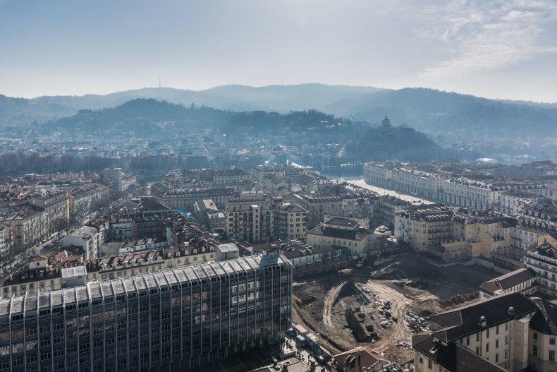 исторический центр Турина