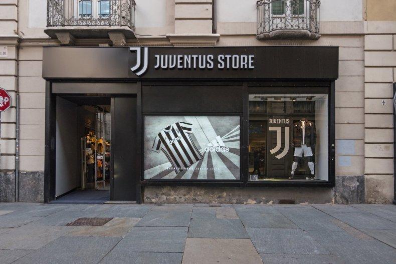 магазин местного футбольного клуба «Ювентус»