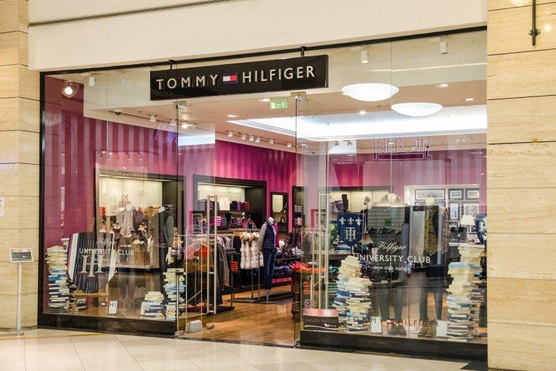 магазин Т.Хилфигер в Турине